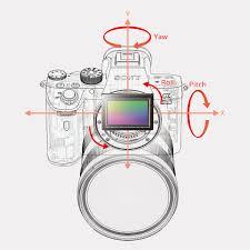 Sony 5-Achsen-Bildstabilisierung