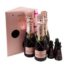 moet chandon rosé miniature chagne gift set oh i would love to have one of these i love chagne chagne moet chandon and