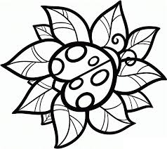 Small Picture For Kid Cute Ladybug Coloring Pages 12 On Gallery Coloring Ideas