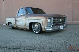 C10 Patina, bagged, shop truck