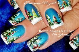 Robin Moses Nail Art: Night Before Christmas Nails 2017 | Hand ...