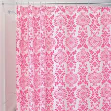 curtains ideas remove mildew from shower curtain interdesign 40420 shower curtain damask hot pink