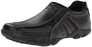 skechers diameter. skechers usa men\u0027s diameter-nerves slip-on loafer,black leather,6.5 m diameter