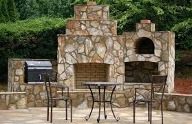 outdoor fireplace and pizza oven combination plans fireplace and wood fired brick pizza oven in north