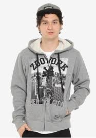 Zoo York Clothing Size Chart Boys Graphic Hoodie Jacket