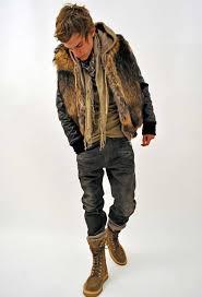 fur coats for men fake