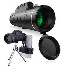 40x60 HD Mini Monocular Telescope With Tripod Cell ... - Amazon.com