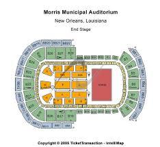 Morris Civic Auditorium Seating Chart Morris Municipal Auditorium Tickets In New Orleans Louisiana
