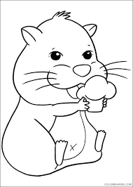 Download and print these hamster coloring pages for free. Hamster Coloring Pages To Print Coloring4free Coloring4free Com