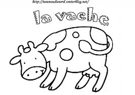 Coloriage Vache Les Beaux Dessins De Animaux Imprimer Et Dessin De Vache A Imprimer Coloriage De Vache L