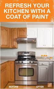 Home Depot Rustoleum Cabinet Get The Look Of New Kitchen Cabinets The Easy Way The Two New