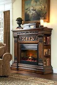 electric fireplaces with storage fireplace
