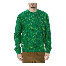 Trukfit Mens The D Splatter Crewneck Sweatshirt