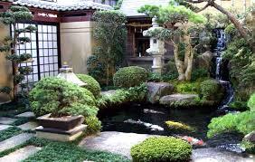 Asian Landscaping Design Ideas Oriental Garden Design Ideas In Cute Wooden Bridge Oriental