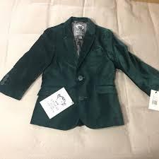 Appaman Green Blazer Nwt