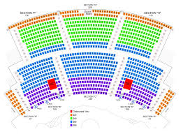 Zumanity Theatre Seating Chart Tickets