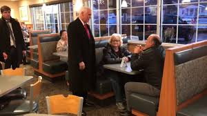 Culver Design Milwaukee Vice President Mike Pence Stopped By A Local Culvers While In Town