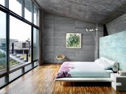 Small Picture Concrete walls and windows in the bedroom Interior Design Ideas