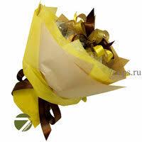 «Букет из <b>чая</b> - Амарант желтый - <b>Подарочный набор</b> чайный ...