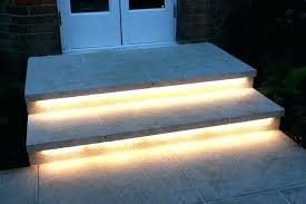 stair lighting led. Outdoor Stair Lights Step Led Light Awesome Wooden . Lighting