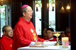 Image result for Đức Giám mục Phaolô Bùi Văn Đọc qua đời