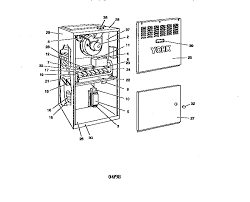 york model p3hua12n06401 furnaces heaters genuine parts york gas furnace wiring diagram York Furnace Wiring Diagram #16