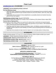 Sports Resume Template Alieninsidernet