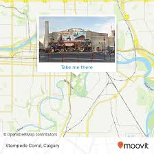 How To Get To Stampede Corral In Calgary By Light Rail Or