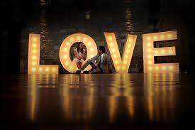 Wedding Love Lights Light Up Letters Bali Product Range By Light Up Letter Bali