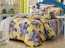 high end yellow fl awesome king size duvet covers