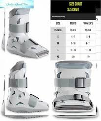Aircast Airselect Standard Walking Boot Brace Foam
