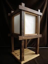 shoji end table lamp design ideas