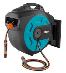 fitting a wall mounted hose reel