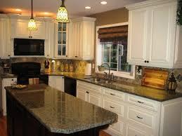 amazing cream colored kitchen cabinets designs with dark cou