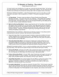 High Interpersonal Skills 12 Models Of Selling Sales Training International