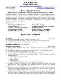 Safety Advisor Cover Letter Sarahepps Com