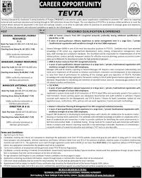 jobs in technical education vocational training authority tevta jobs in technical education vocational training authority tevta lahore government of the punjab 25th