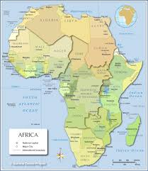 map of africa  countries of africa  nations online project