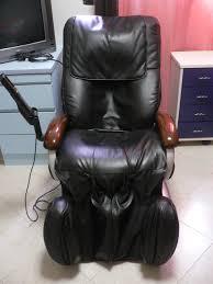 black leather massage chair. sold: osim isymphonic massage chair (genuine black leather) leather s
