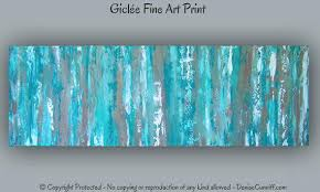 turquoise office decor. Turquoise Wall Art Office Decor Large Aqua Teal Abstract Print Contemporary