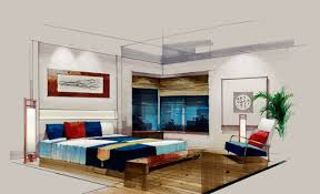 Interior Design Bedroom Sketches at Home design concept ideas