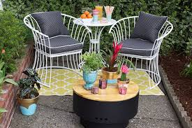 furniture for small patio. Small Patio Ideas For Renters (and Everyone Else) Furniture F