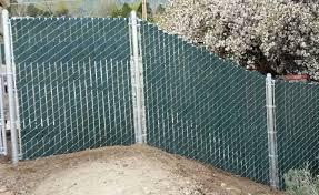 installing wire fence on uneven ground round designs