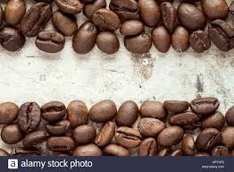 coffee beans border. Perfect Beans Coffee Beans At Border Of Image  Stock Image On Beans Border
