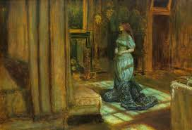 The Eve of Saint Agnes, 1863 - John Everett Millais - WikiArt.org