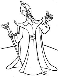 Disegno Di Jafar Da Colorare Disegni Da Colorare E Stampare Gratis