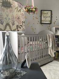 A Serene and Calming Nursery for Selah Grace | Gray crib, Project ...