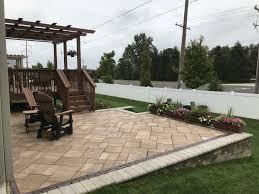 raised patio landscaping86 patio