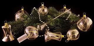 Weihnachtskugeln Aus Glas Original Christbaumschmuck Aus
