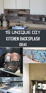 Tile Backsplash Installation Interesting 48 Unique DIY Kitchen Backsplash Ideas To Personalize Your Cooking